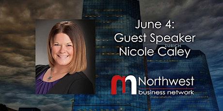 VIRTUAL Northwest Meeting June 4: Guest Speaker Nicole Caley tickets