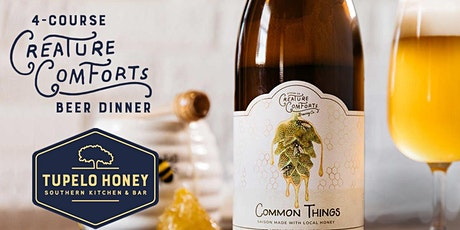 4 Course Creature Comforts Beer Dinner tickets