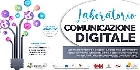 Comunicazione Digitale biglietti