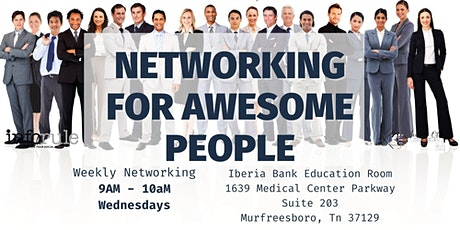 Networking For Awesome People tickets
