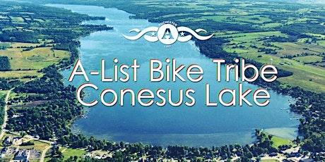 A-List Adventure - Conesus Lake Libation Loop Bike Ride tickets