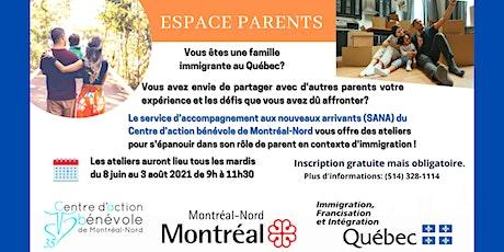 Espace Parents billets