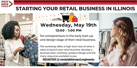 Starting Your Retail Business in Illinois tickets
