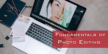 Fundamentals of  Photo Editing tickets