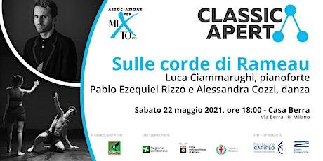 SULLE CORDE DI RAMEAU - Progetto artistico con Luca Ciammarughi biglietti
