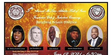 5th Annual Athletic Hall of Fame Induction Gala & Dance tickets