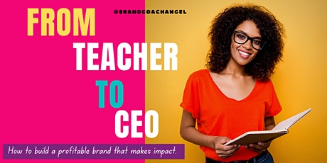 Branding For Teacherpreneurs Workshop tickets