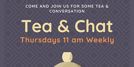 Cup of Tea and Chat: Weekly session 11 am Mullingar tickets