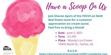 Customer Appreciation Ice Cream Social tickets