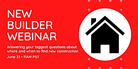 Learn about New Construction in the Sacramento Region tickets