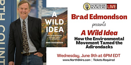 "Northshire Live: Brad Edmondson ""A Wild Idea"" tickets"