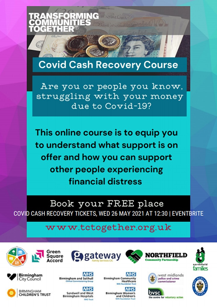Covid Cash Recovery image