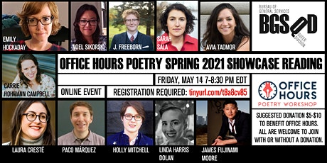 Office Hours Poetry Spring 2021 Showcase Reading tickets