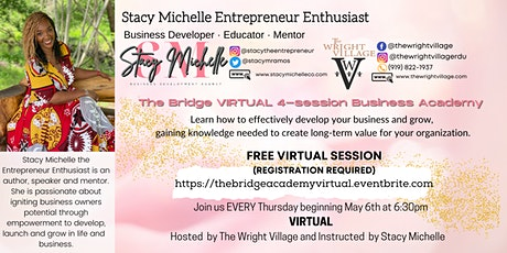 The Bridge Business Academy Virtual tickets