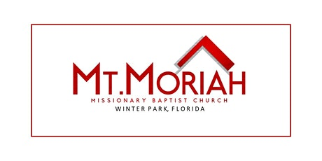 Mt. Moriah MBC Sunday Worship Service tickets
