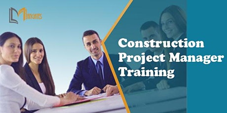 Construction Project Manager 2Days Virtual Live Training in New Jersey, NJ tickets