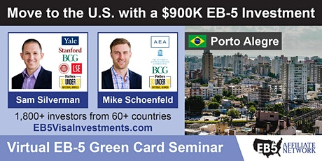 U.S. Green Card Virtual Seminar – Porto Alegre, Brazil ingressos