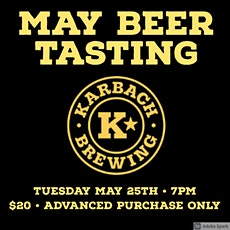 May Beer Tasting with Karbach Brewing tickets