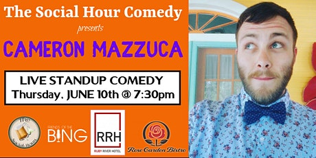 Comedy Night at The Ruby River Hotel with Cameron Mazzuca tickets
