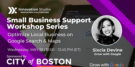 Optimize Local Business on Google Search & Maps tickets