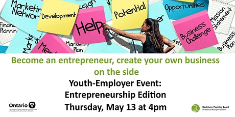 Youth-Employer Event:  Entrepreneurship Edition tickets