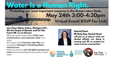 Water Is A Human Right: Protecting Michigan's most important resource tickets