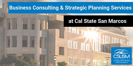 CSUSM CoBA's Office of Business Research and Consulting Event tickets