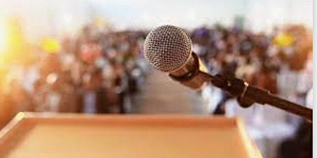 Public Speaking Event (Online Event) tickets