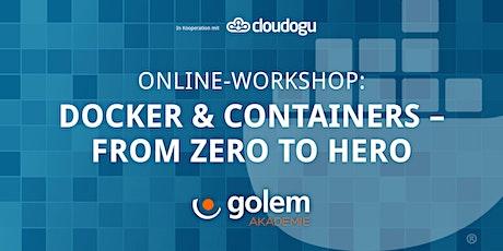 Docker & Containers – From Zero to Hero biglietti