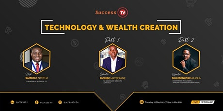 Technology and Wealth Creation tickets