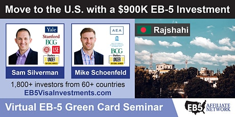 U.S. Green Card Virtual Seminar – Rajshahi, Bangladesh tickets
