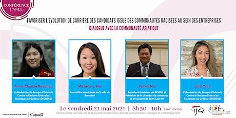 Conférence-panel | Favoriser l'évolution de carrière des personnes racisées billets