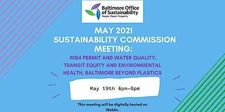 Sustainability Commission Meeting tickets