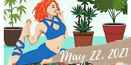Weed ,yoga and meditation tickets