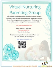 Virtual Nurturing Parenting Group- Expecting families only tickets