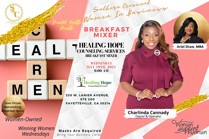 Breakfast Mixer:Meet Charlinda of Healing Hope Counseling and Services! image