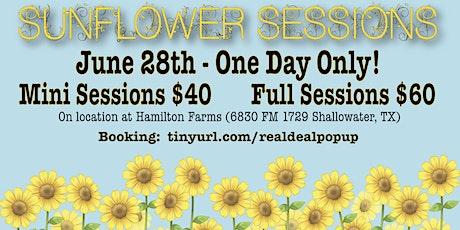 RealDealPhotos Sunflower Sessions tickets