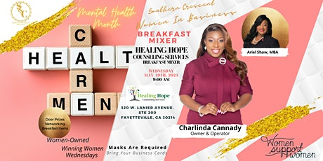 Breakfast Mixer:Meet Charlinda of Healing Hope Counseling and Services! tickets