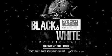 Black & White Electric Ball | New Year's Eve 2022 (Houston, TX) tickets