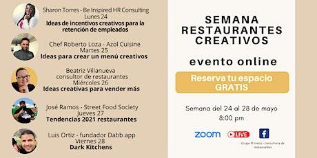 Semana de Restaurantes Creativos boletos