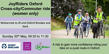 Cross-city/Commuter ride - Wolvercote to JR and Oxford Brookes and back tickets