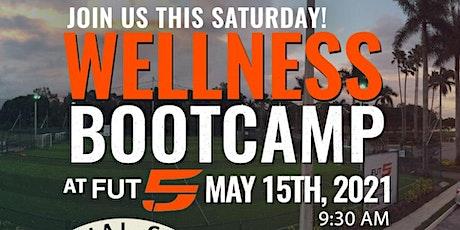Wellness Bootcamp at fut5ive tickets