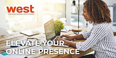 Elevate Your Online Presence | Webinar tickets