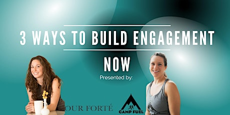 The Time Is Now – 3 ways to build team engagement (now) tickets