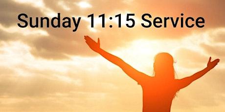 Sunday 16 May 2021 11:15 Service tickets