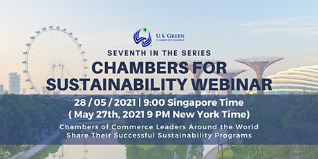 """7th """"Chambers for Sustainability"""" Webinar tickets"""