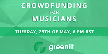 Crowdfunding for Musicians tickets