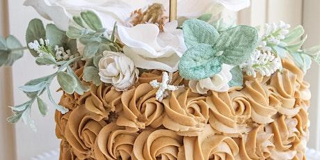 Rosette Cake Decorating Workshop tickets