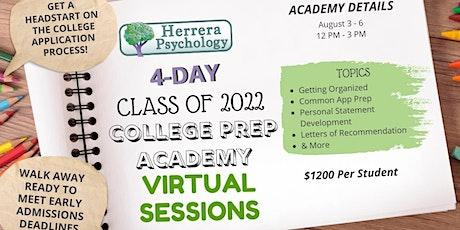 Class of 2022 College Prep Academy[Virtual] tickets