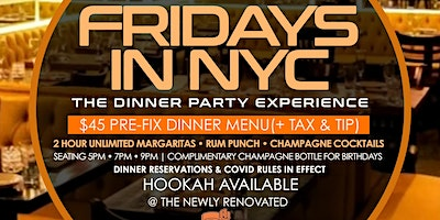 FRIDAYS+IN+NYC+%7C+THE+DINNER+PARTY+EXPERIENCE+